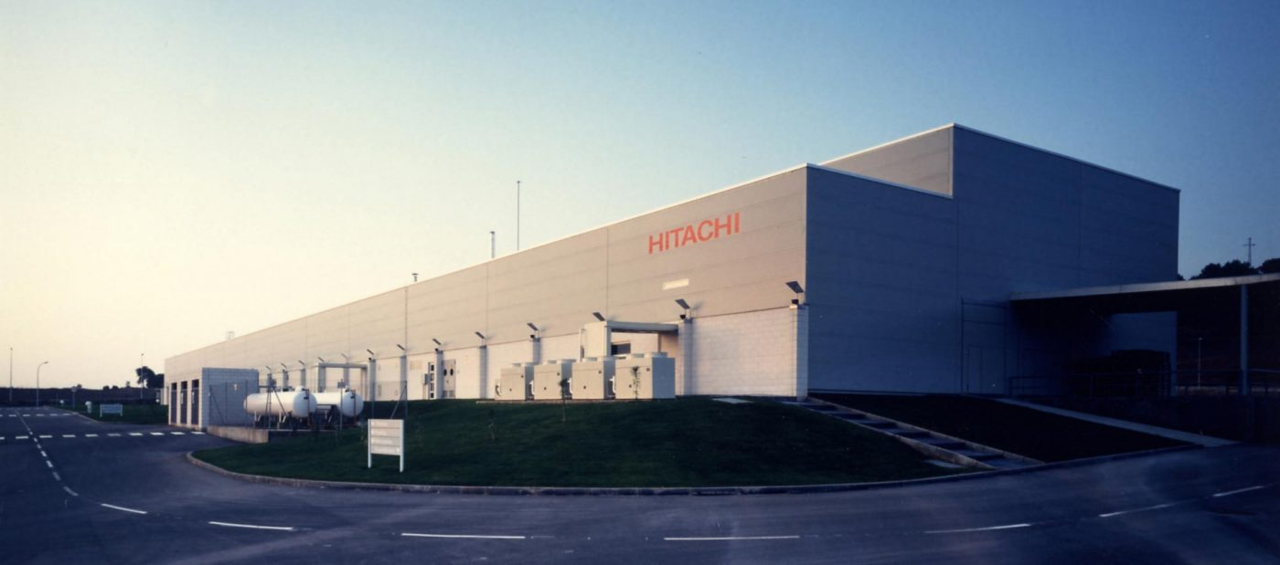 Завод холодильников Hitachi в Японии