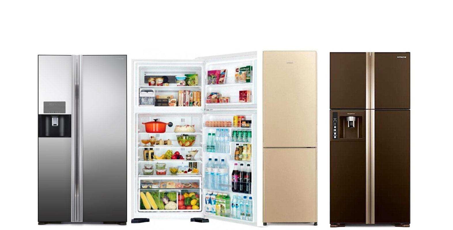 Фото: Виды холодильников Hitachi