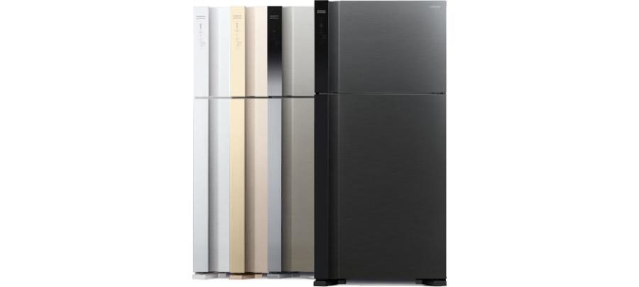 Различные цвета холодильников Хитачи