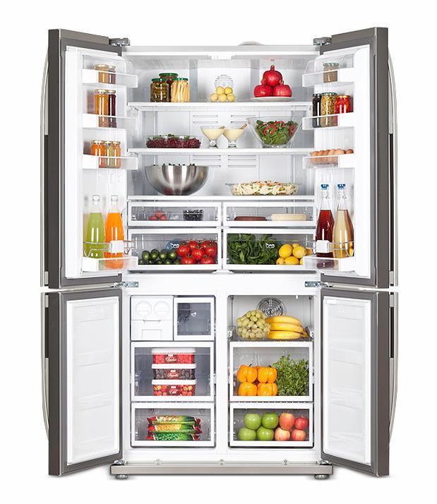 Фото: правильное хранение продуктов в холодильнике